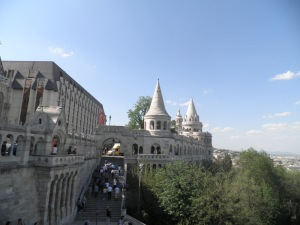 Budapest Castle ramparts