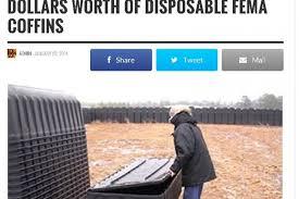 plastic coffins