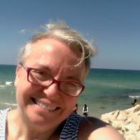 Tel Aviv beach selfie