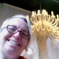 pasta chandelier