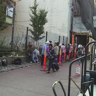 Food Bank line